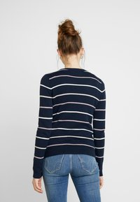 Hollister Co. - ICON CREW - Sweter - navy - 2