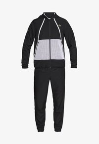 Lacoste Sport - TRACKSUIT HOODED - Tracksuit - black/white - 7