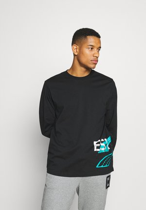 FRANCHISE STREET TEE - Long sleeved top - black