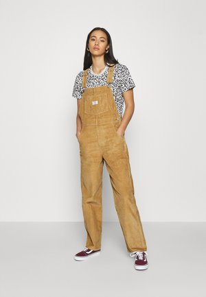 VINTAGE OVERALL - Dungarees - iced coffee warm