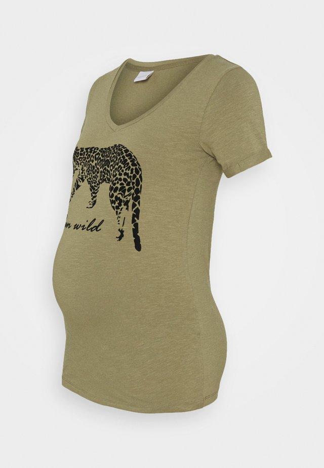 MLHANNA - T-shirt imprimé - aloe