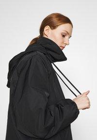 Weekday - BYRON COACH JACKET - Short coat - black - 3