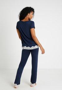 Benetton - TROUSERS - Pyjama bottoms - black iris - 2