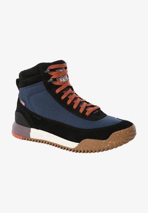 BACK-TO-BERKELEY III - Hiking shoes - monterey blue/tnf black