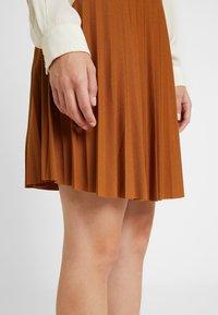 Anna Field Petite - A-line skirt - brown - 4