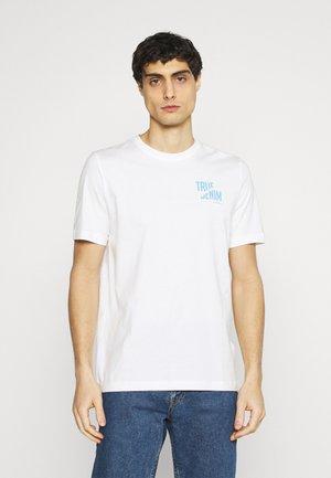 ALEX PRINT - Print T-shirt - cloud dancer
