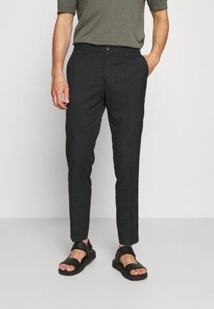 MOTT CLASSIC DYED - Trousers - dark blue