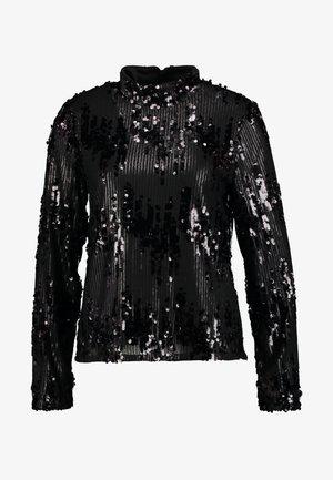 Pusero - black/sequins