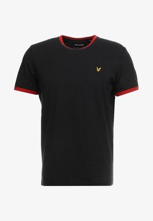 RINGER - T-shirt - bas - true black