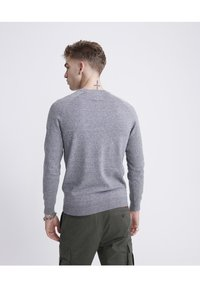Superdry - ORANGE LABEL - Pullover - ash grey grit - 2