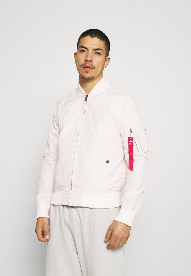 Bomber Jacket -  jet stream white