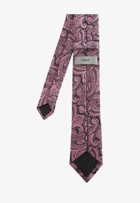 Next - PINK PINK PAISLEY PATTERN TIE WITH TIE CLIP - Tie - pink - 1