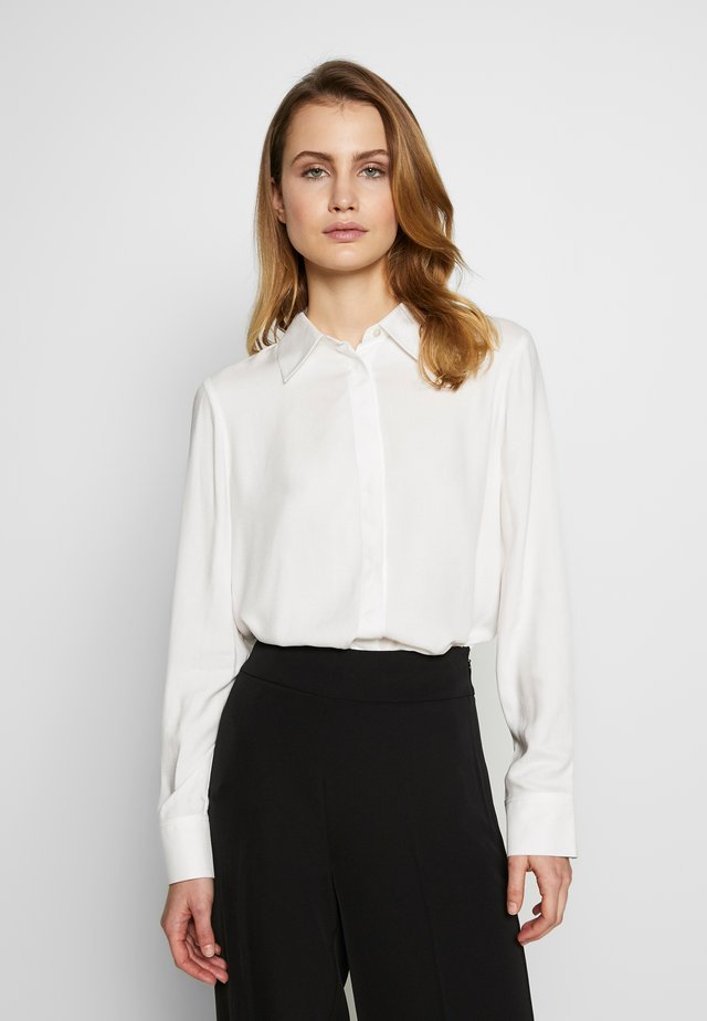 BLOUSE - Button-down blouse - off-white