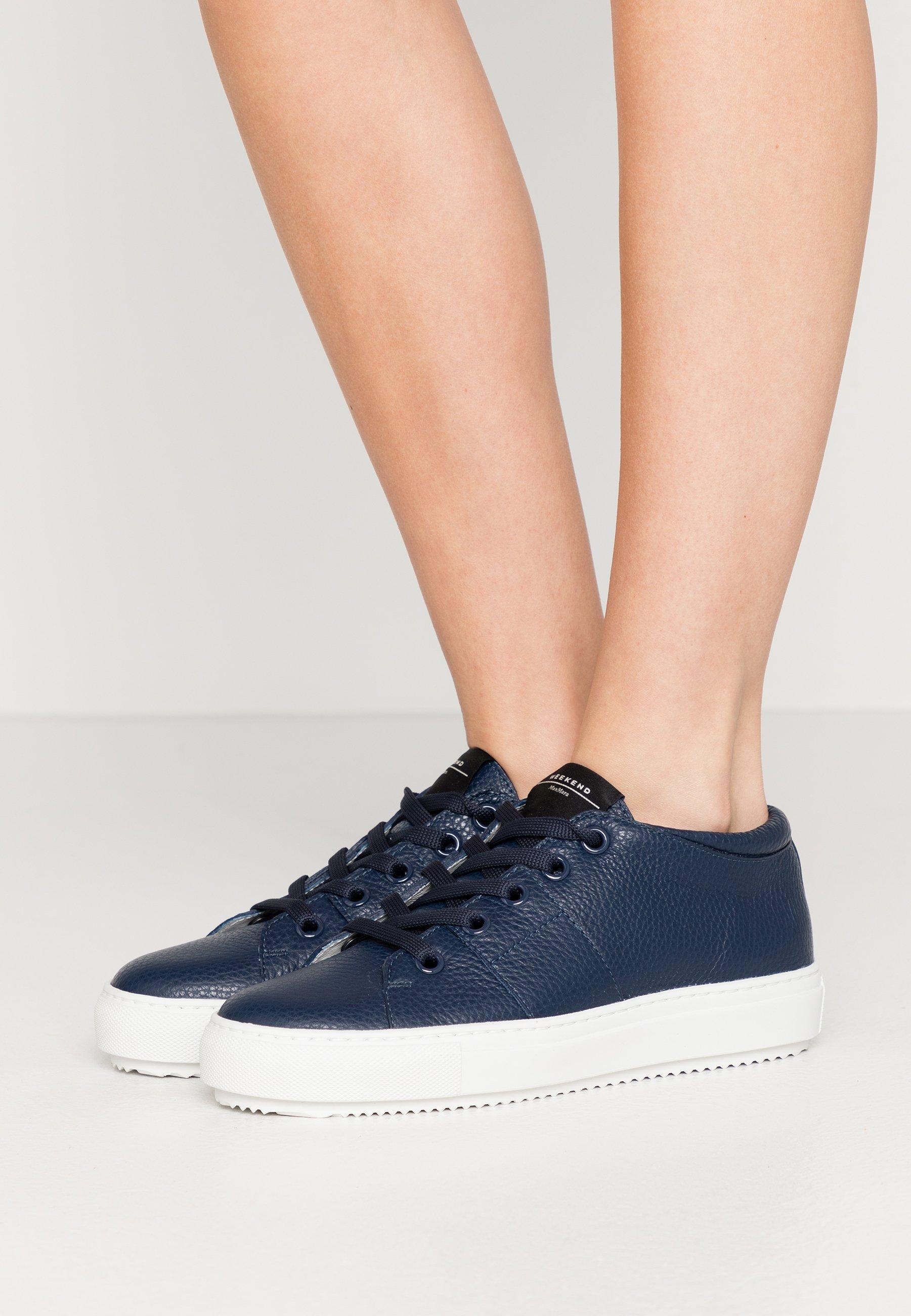 Gran descuento WEEKEND MaxMara LUCILLA - Zapatillas - blau   Calzado de mujer2020 9tjIy