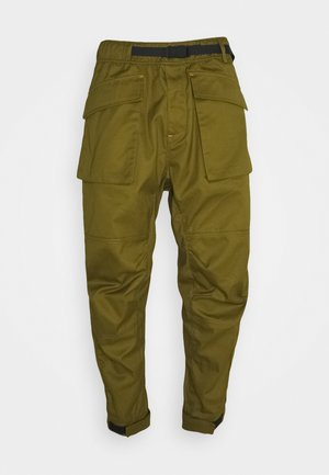 Cargo trousers - dark moss