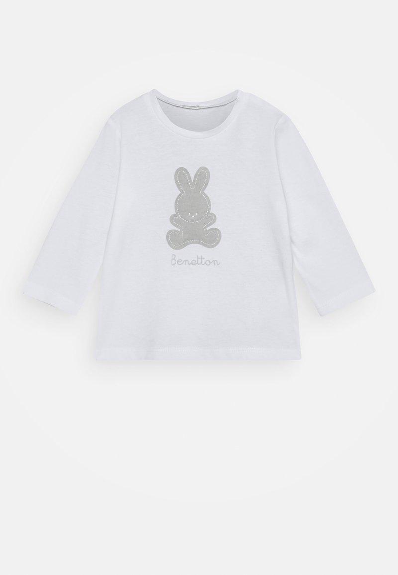 Benetton - T-shirt à manches longues - white