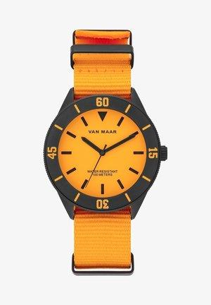 Horloge - neon orange