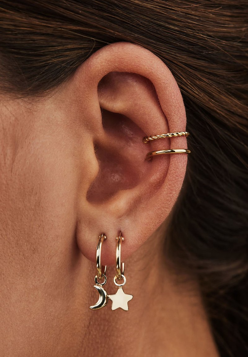 Selected Jewels - Boucles d'oreilles - silber