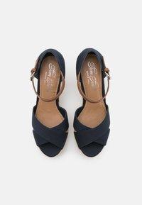 TOM TAILOR - Platform sandals - navy - 5