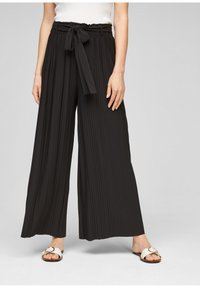s.Oliver - Trousers - black - 0