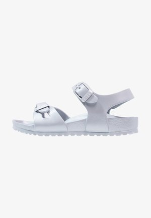 RIO - Pool slides - metallic silver