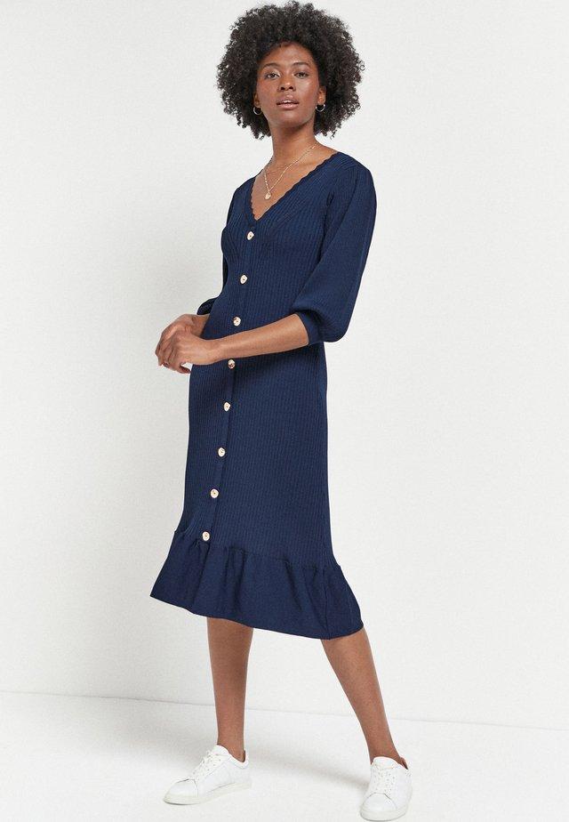Sukienka dzianinowa - dark blue