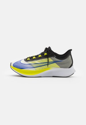 ZOOM FLY 3 - Neutral running shoes - white/racer blue/cyber/black