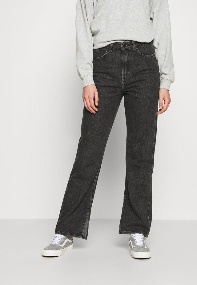 ROWE NEW SPLIT - Jeans straight leg - new black