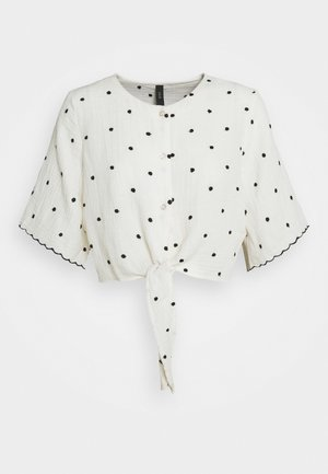 YASIDA 2/4 TOP - Bluse - white
