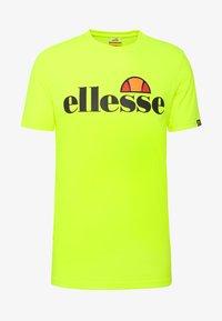 Ellesse - PRADO - Printtipaita - neon yellow - 4