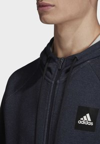 adidas Performance - MUST HAVES STADIUM HOODIE - Sweatjakke /Træningstrøjer - silver - 3