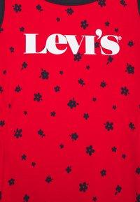 Levi's® - RINGER TANK DRESS - Jersey dress - super red - 2