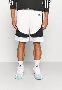 adidas Performance - PREMIUM BASKETBALL TEAM SHORTS - Pantaloncini sportivi - white - 0