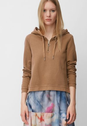 Hoodie - coconut shell