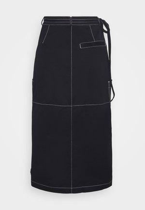 ZARYNN - A-line skirt - deep well