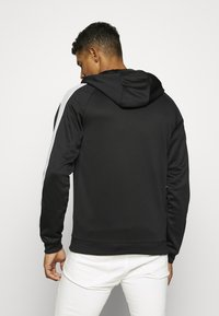 Nike Sportswear - HOODIE - Training jacket - black/lt smoke grey/white - 2