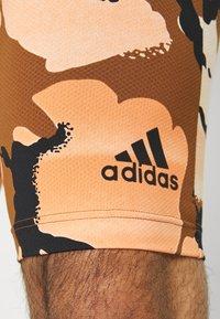adidas Performance - Leggings - brown - 3