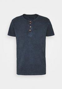 INDICODE JEANS - KESWICK - T-shirt - bas - navy - 4