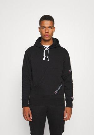 SPORTLEISURE HOODED  - Sweatshirt - black