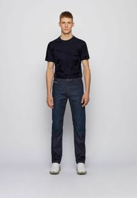 BOSS - ALBANY - Relaxed fit jeans - dark blue - 1