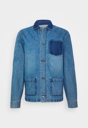 EARL WORKER JACKET - Jeansjacka - light blue