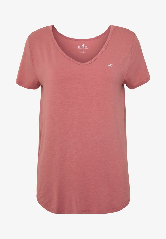 EASY 3 PACK - T-shirt imprimé - white/canyonrose/xenonblue