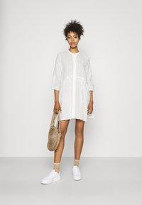 ONLY - ONLCHICAGO LIFE  DRESS - Shirt dress - cloud dancer - 1