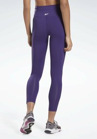 Reebok - LUX SPEEDWICK LEGGINGS - Leggings - purple - 2