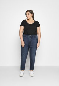 Zizzi - JAUSTYN - Slim fit jeans - blue denim - 1