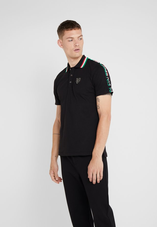 POLO STRIPES - Polo - black