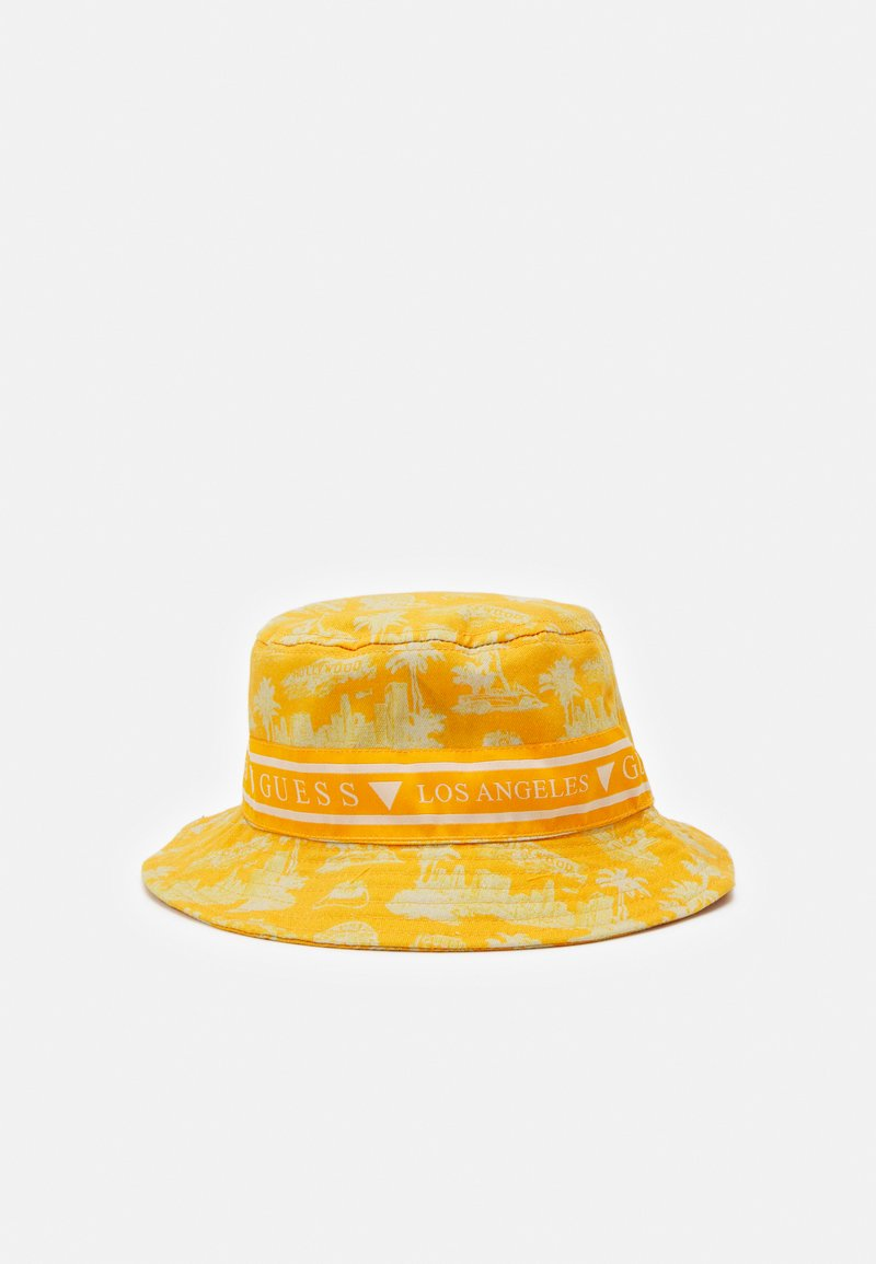 Guess - BUCKET HAT UNISEX - Klobouk - yellow