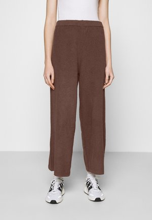 CALAH TROUSERS - Tygbyxor - brown