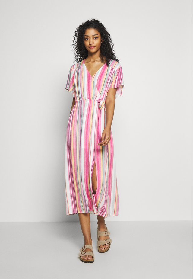 KITA STRIPE DRESS - Korte jurk - multi