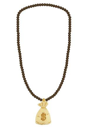 Necklace - hellbraun/dunkelbraun